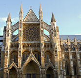 North entrance of Westminster Abbey Royalty Free Stock Photography