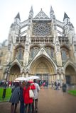 The North Entrance of Westminster Abbey Stock Images
