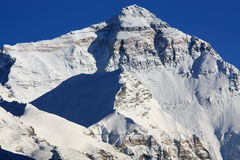 North Face of Mount Everest Stock Photos