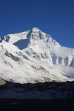 North Face of Mount Everest Stock Photo