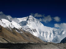 The North face of Mt. Everest Royalty Free Stock Images