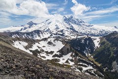 North face of Mt. Rainier Royalty Free Stock Image