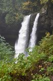 North Falls, Silver Falls State Park, Oregon. This is the North Falls in Oregon`s Silver Falls State Park.  It is 136 feet high Royalty Free Stock Photos
