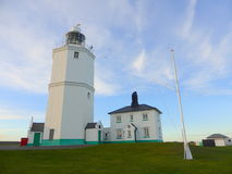 North Foreland lighthouse. The historic North Foreland lighthouse in Kent, England Stock Photo