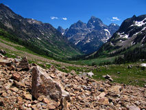 North Fork Cascade Canyon Stock Photo
