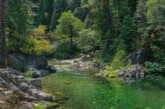 North Fork del fiume di Yuba fotografie stock libere da diritti