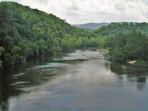 North Fork New River. The North Fork New River near the town of Lansing, North Carolina Royalty Free Stock Images