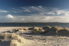 On the North Frisian Island Amrum. In Germany Royalty Free Stock Photos