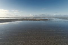 On the North Frisian Island Amrum. In Germany Stock Photos
