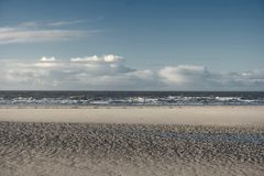 On the North Frisian Island Amrum. In Germany Royalty Free Stock Photography