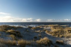 On the North Frisian Island Amrum. In Germany Stock Image
