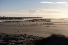 On the North Frisian Island Amrum. In Germany Stock Photography