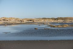 On the North Frisian Island Amrum. In Germany Royalty Free Stock Image