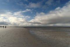 On the North Frisian Island Amrum Stock Photo