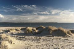On the North Frisian Island Amrum. In Germany Royalty Free Stock Images