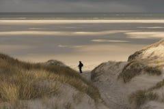 On the North Frisian Island Amrum Stock Photography