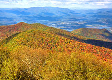 North GA Mountains. In the Fall Royalty Free Stock Photo