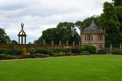 North Garden, Montacute House,Somerset, England Stock Photos