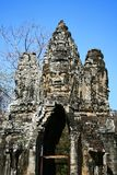 North Gate,Angkor,Cambodia Royalty Free Stock Photos