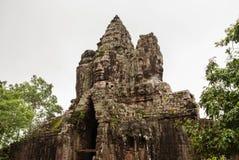 North Gate, Angkor Thom, Cambodia Royalty Free Stock Images