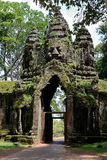 North Gate Angkor Thom Stock Photography