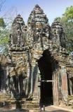 North gate Angkor Thom, Siem Reap, Cambodia Royalty Free Stock Photography