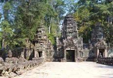 North gate Angkor Thom, Siem Reap, Cambodia Stock Photo