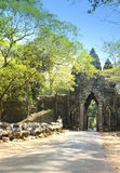 North gate Angkor Thom, Siem Reap, Cambodia Royalty Free Stock Photo