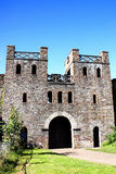 North Gate of Cardiff Castle Royalty Free Stock Photos