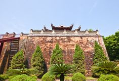 North Gate (1805) of Imperial Citadel in Hanoi, Vietnam Royalty Free Stock Photography