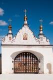 North gate of Tobolsk Kremlin Royalty Free Stock Photos