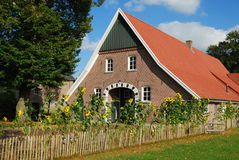 North German village house Royalty Free Stock Image