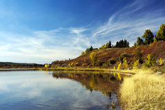 North Glenmore Lake Stock Images