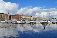 North Harbor in Helsinki Royalty Free Stock Image