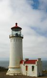 North Head Lighthouse. At Cape Disappointment Stock Image