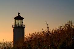North Head Lighthouse on the South Washington State Coast Royalty Free Stock Image