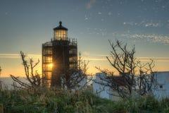 North Head Lighthouse on the Southern Washington Coast Royalty Free Stock Photos