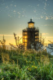 North Head Lighthouse on the Southern Washington Coast Royalty Free Stock Photo