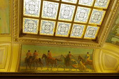 North Hearing Room Decor in Wisconsin Capitol Stock Image