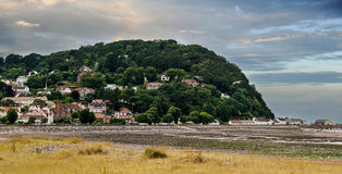 North Hill in Minehead Royalty Free Stock Images