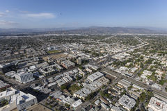 North Hollywood California Aerial View Royalty Free Stock Image