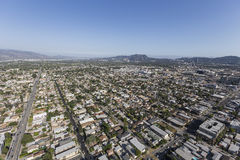 North Hollywood California Aerial Royalty Free Stock Images