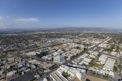 North Hollywood California Aerial Royalty Free Stock Photography