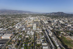 North Hollywood California Afternoon Aerial Stock Photo