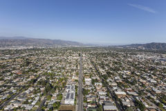 North Hollywood California Afternoon Aerial Royalty Free Stock Photo