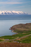 North Iceland flord - Eyjafjordur Stock Photo