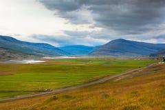 North Iceland Sea Lagoon Landscape Royalty Free Stock Image