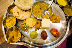 North indian cuisine Royalty Free Stock Photo