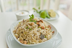 North Indian Rice Dish. North indian dish of rice Stock Photos