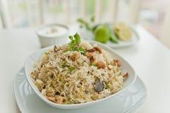 North Indian Rice Dish Stock Photos